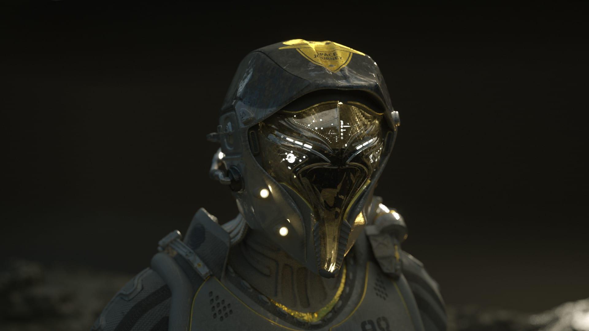 Coriaceus Space Suit